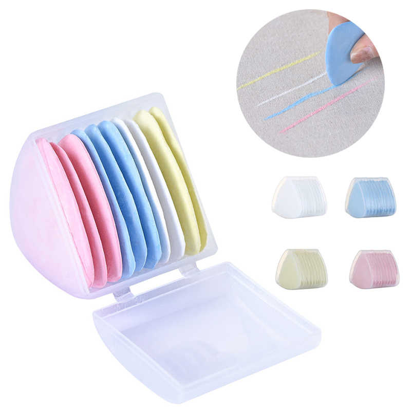 Colorful Erasable Fabric Tailors Chalk Fabric Patchwork Marker Clothing Pattern DIY Sewing Tool Needlework Accessories