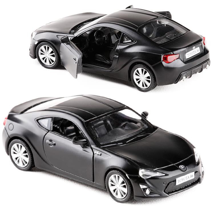 HOT SALE!1:36 High Imitation Alloy Model Car,Toyota GT86 Pull Back Metal Car Toy,2 Open Door Static Model, Free Shipping