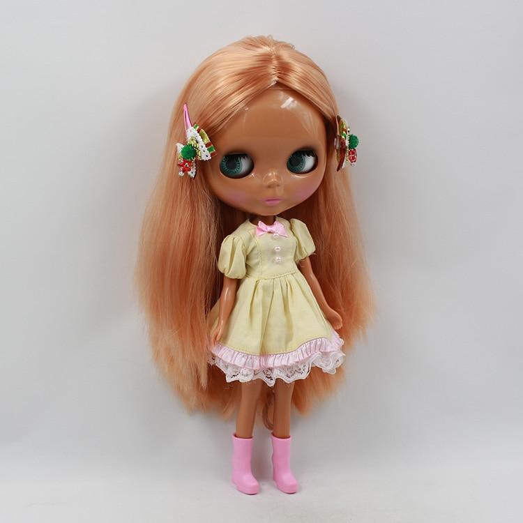 Beaukiss Nude Blyth Bjd 1/6 Doll Long Hair Tan skin Doll Mom Modified Makeup DIY bjd dolls for sale nude doll blyth multi color long hair bjd 30cm blyth dolls for sale