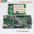 El Precio bajo Auto OBD2 TCS CDP Sin Bluetooth 2015. R3 Envío Active + V3.0 Placa PCB obd2 Escáner Para Coches/Camiones/Genérico 3 en 1