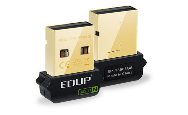 Edup USB 150 Mbps sans fil Wifi Mini adaptateur réseau 802.11 n / g / B pour pour Raspberry Pi B et Raspberry Pi B + B plus version