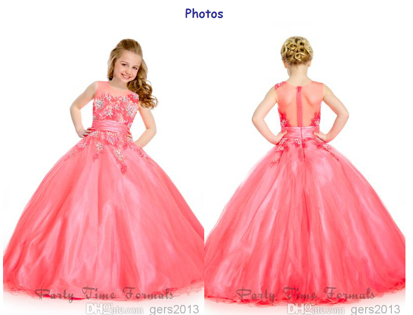 Buy ballroom flowers girl dress and get free shipping on AliExpress.com