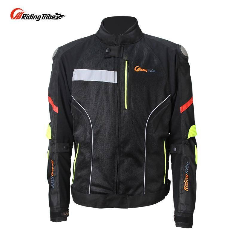 Riding Tribe Men's Riding Jackets Motorcycle Black KTM Racing Windproof Jacket Outdoor off-road Jacket