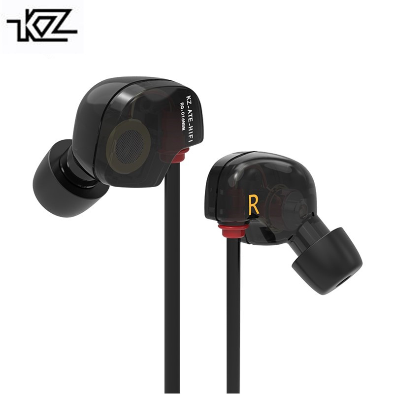 KZ Special ATE ED9 Dynamic Nozzle Earphone In Ear Monitors HiFi Earbuds With Microphone Transparent Sound For Free Shipping