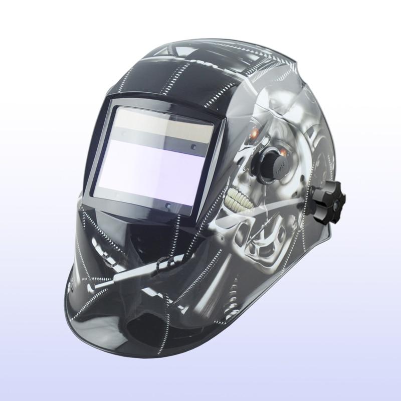 Auto darkening welding helmet/welding mask/MIG MAG TIG(Yoga-616G)METAL SKULL/4 arc sensor все цены