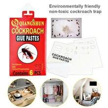 Toksik olmayan hamamböceği kovucu Sticker Anti sivrisinek hamamböceği katil yem tuzak yapışkan tutkal kurulu fare böcek örümcek böcek tuzağı