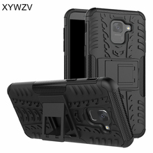 sFor Samsung Galaxy J6 2018 Case Armor Rubber Hard Back Case For Samsung Galaxy J6 2018 Cover For Samsung J6 2018 J600G Fudnas все цены