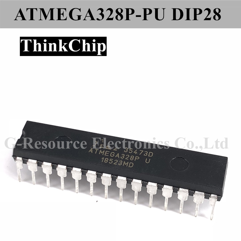 Free Shipping ATMEGA328P-PU DIP-28 ATMEGA328P 8 Bit MCU Low Power High Performance, AVR Series Microcontrollers
