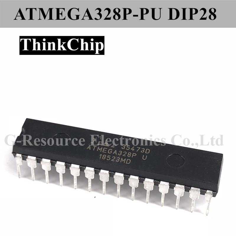 Free Shipping ATMEGA328P-PU DIP-28 ATMEGA328P 8 Bit MCU Low Power High Performance, AVR Series Microcontrollers