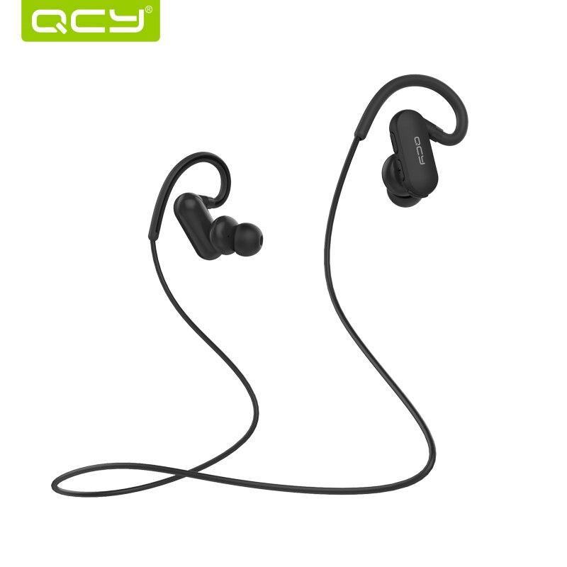 QCY Auricolari Bluetooth Sport QY31 IPX4 Sweatproof Auricolare Bluetooth 4.1 Corsa Musica Auricolari Con Microfono Gancio per L'orecchio