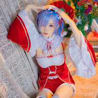 Rem Ram Costume Re Zero Re0 REM Christmas Cosplay Re Life In A Different World From