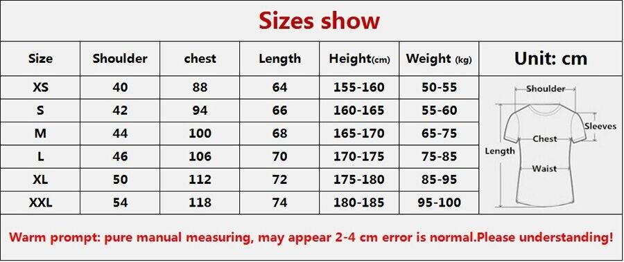 One Punch Man Oppai Shirt Size Show