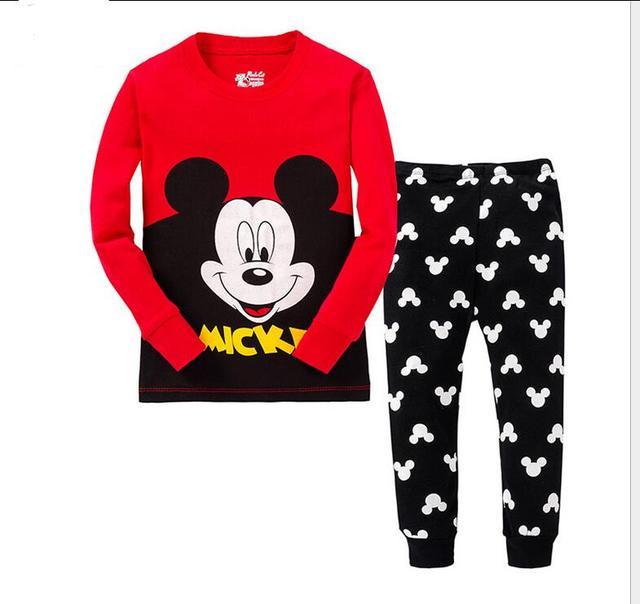 e9edd7f650a4c Enfants minnie pyjamas bébé despicable me pyjamas set enfants de noël conception  pyjamas garçons filles manches