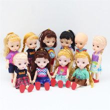 15 CM BJD Doll Parts 13 Joints DIY Dress up Lovley Original Girls Princess Dolls Toys Kid Gift Baby Replacementor