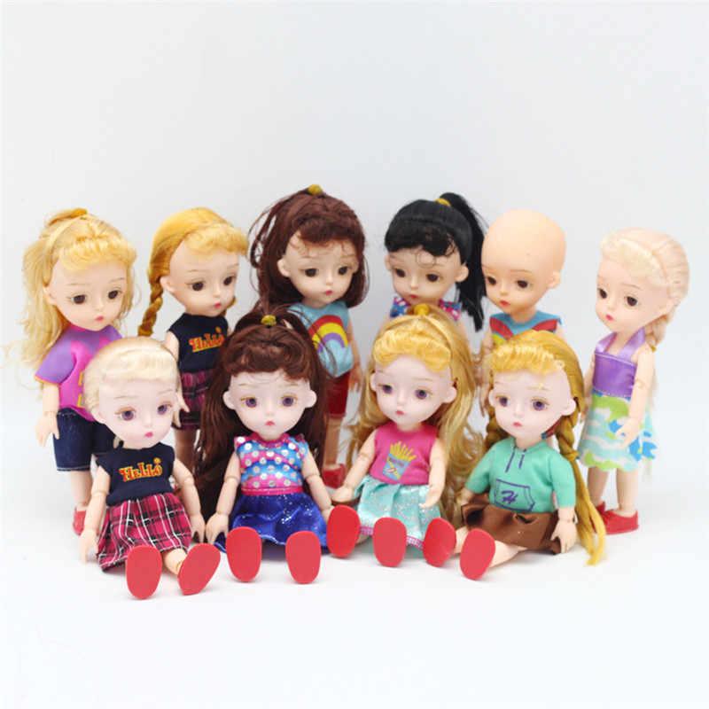 15 cm peças de boneca bjd 13 juntas diy vestir-se lovley bjd meninas originais princesa bonecas brinquedos presente do miúdo do bebê peças de boneca replacementor