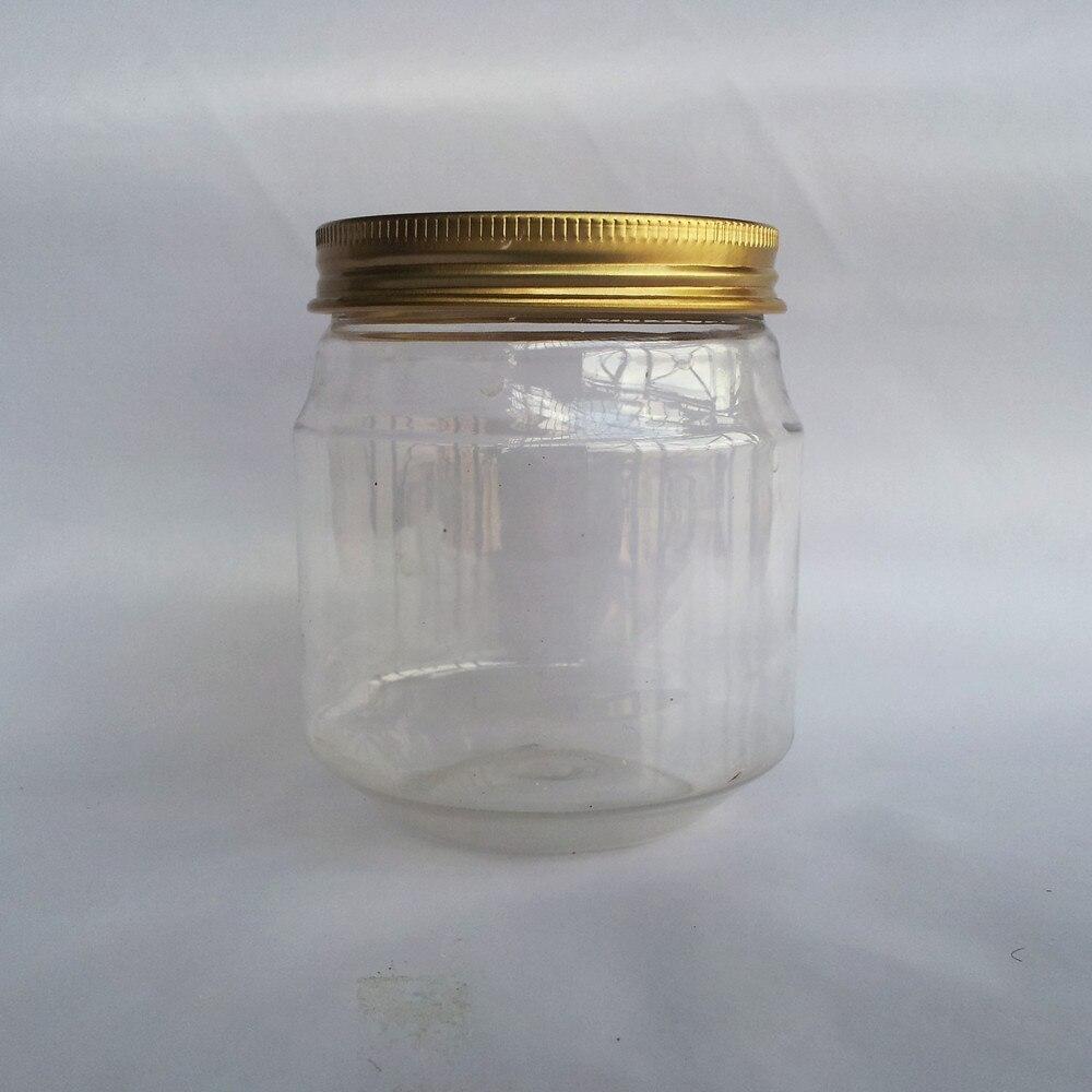 Azpack 500 ml PP Fresh Big Ensalada Recipientes de comida r/ápida desechable caja de pl/ástico tapas visp Almacenamiento paquete de 100