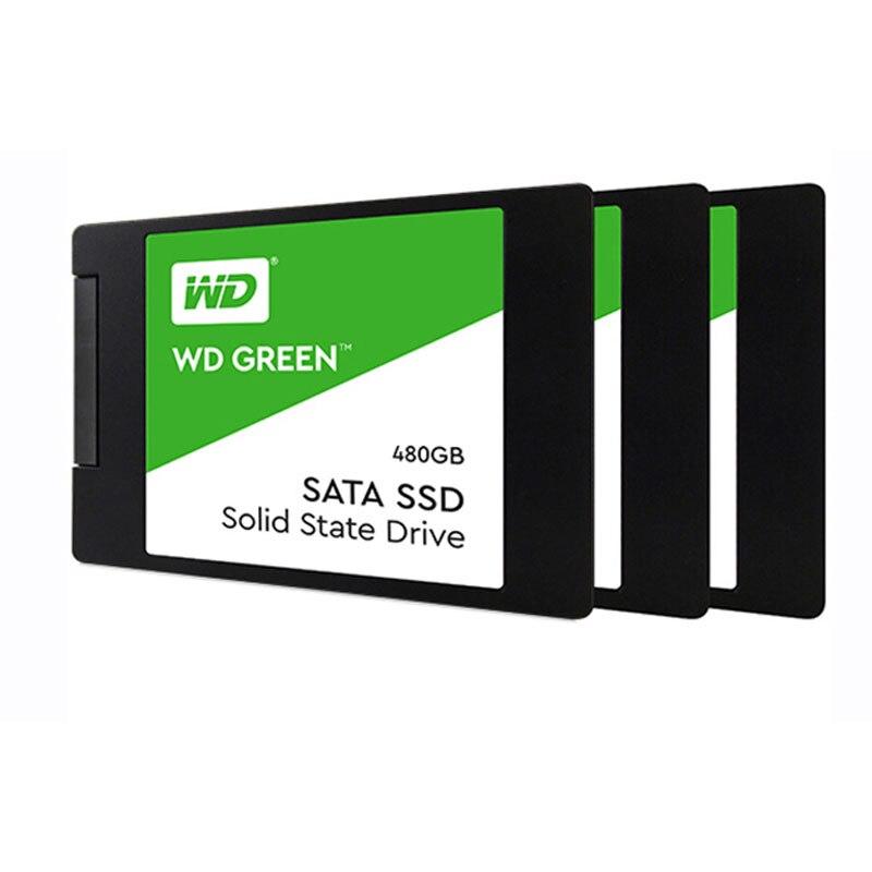 WD 480GB 240GB 120GB SSD Sata 3 SSD Hard Drive SSD Disco Duro Interno Internal Solid State Disk Hard Drive 120 GB Free Shipping