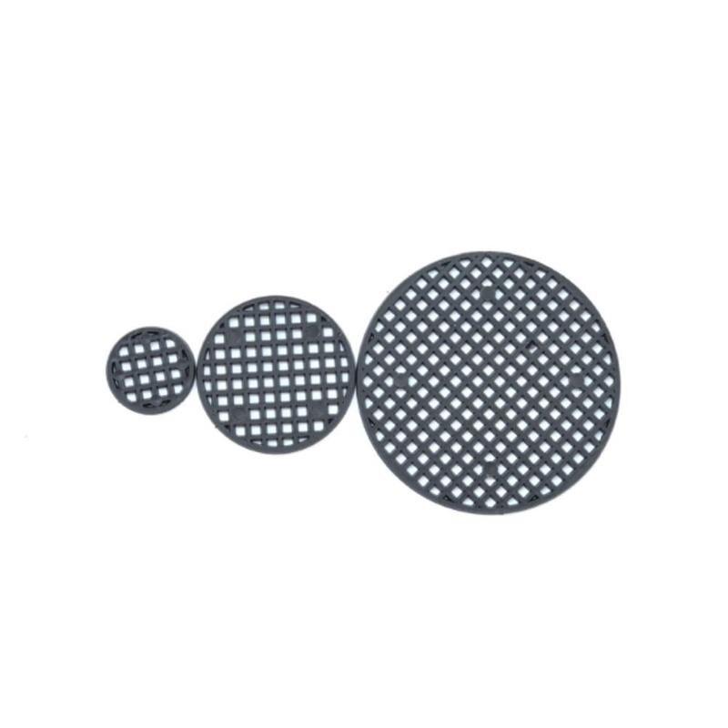 50 Pcs Flower Pot Hole Mesh Pad Bonsai Pot Bottom Grid Mat Bottom Mat Prevent Soil Loss Breathable Gasket