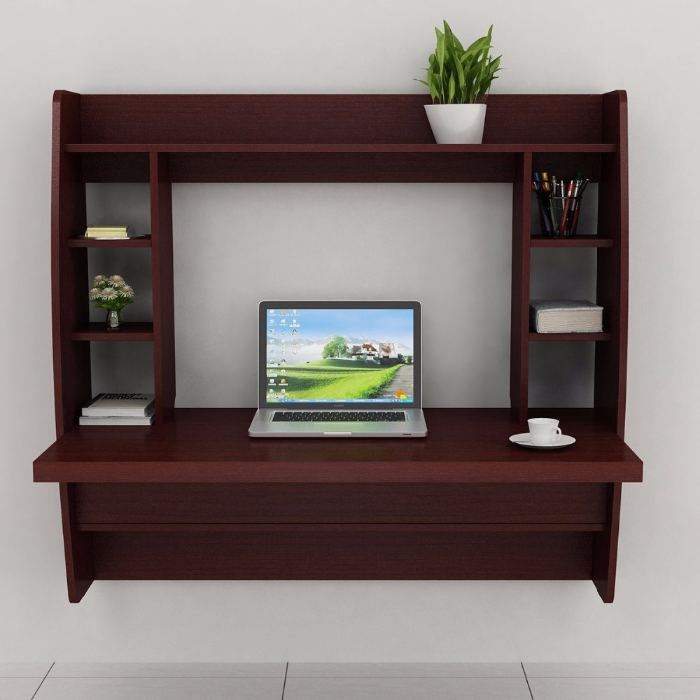 black homcom home drawer and furniture desk storage pc printer computer shelves dp w modern white workstation shelf table rack writing office wooden