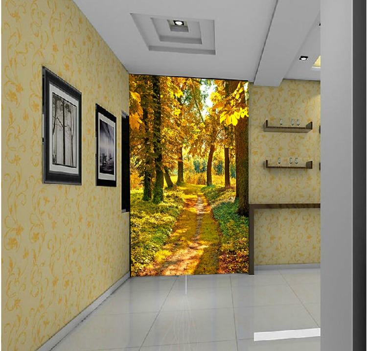 3d stereoscopic mural wallpaper entrance hallway for 3d wallpaper for hall