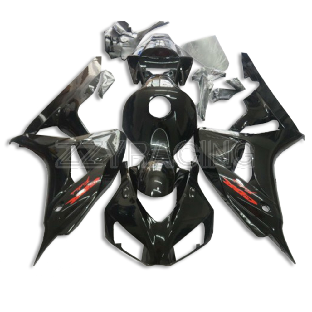 Injection Fairings Kits for Honda CBR1000RR 2006 - 2007 Year Complete ABS Plastic Covers 06 07 Motorcycle Gross Black New Kits(China)