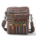 ETN BAG горячей продажи высокого качества унисекс женские мужчины малый холст сумка леди человек этническом стиле кросс-тело плечо сумки