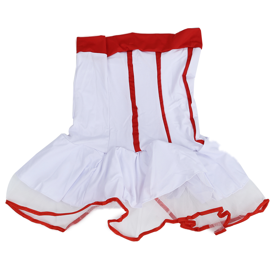 White with Red Nurse suit costumes stage performance clothes Women s sexy Erotic Chemises uniform clothing