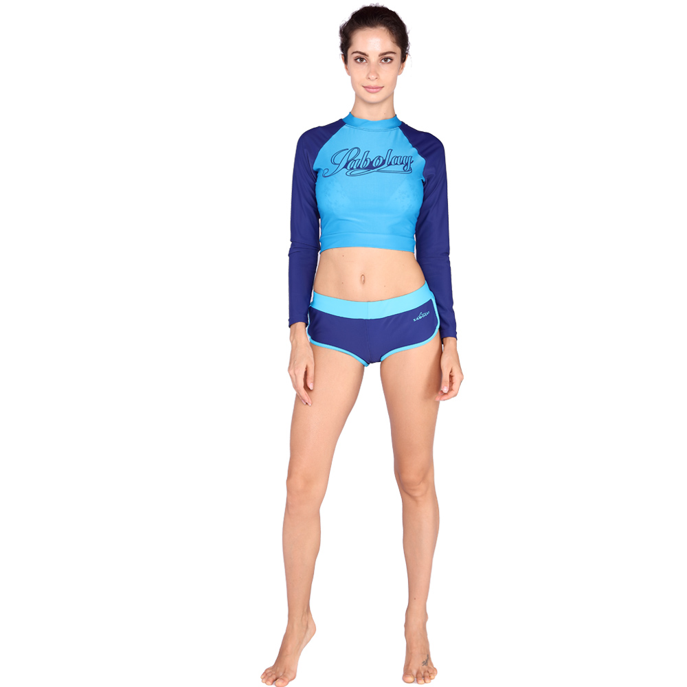 312c078379 2018 new postpartum swimsuit beach sunscreen clothing ladies swimwear quick  drying plus size tight wetsuit swimwear set VY720-in Tankinis Set from  Mother ...