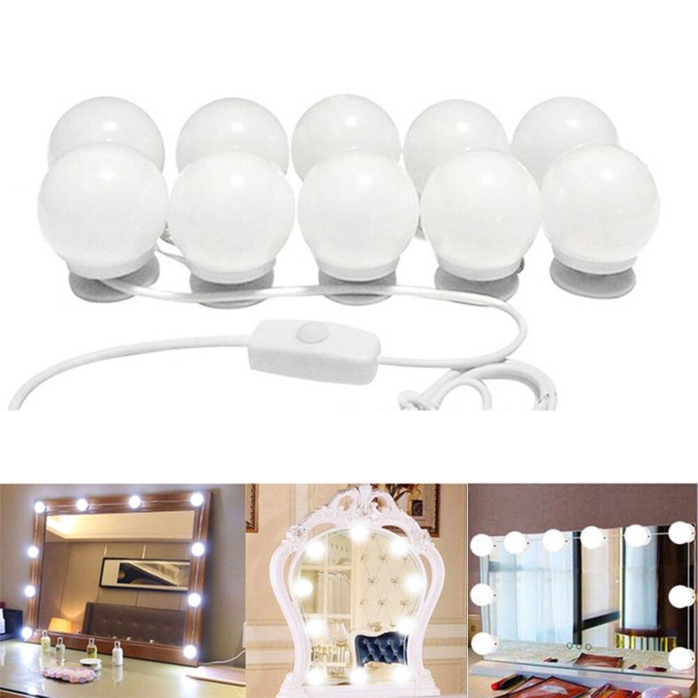 Enjoydeal USB LED Vanity Mirror Lights Bulb Kit Stepless