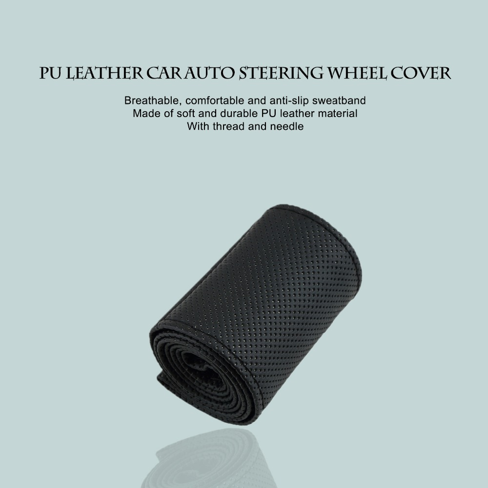 ⑦ new36-38cm Car-styling Car Steering Wheel Cover Braid on the ...
