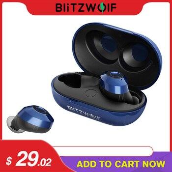 VR3 FYE5 Bluetooth 5.0 Không Dây Thật Tai Nghe TWS Thể Thao Tai Nghe Nhét Tai 10M Kết Nối Tai Nghe Stereo IPX6 Chống Nước Màu Xanh Đen