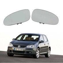 Новый для VW Golf 5 В MK5 2006 2007 2008 2009 Автомобиль-Стайлинг двери автомобиля боковое зеркало Стекло с подогревом