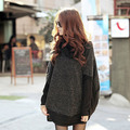 maternity wear sweater pullover knitted turtle neck pullovers clothes for pregnant women winter top bat-like shirt
