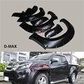 CITYCARAUTO автомобильный Стайлинг формовочное крыло вспышка для DMAX D-MAX аксессуары для диких траков ABS черные крылья для D-MAX автомобиля 2012-2016