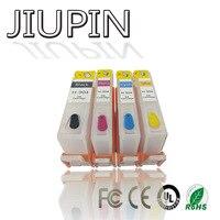 JIUPIN 4PK para HP904 904XL 904 cartucho de tinta completamente remanufacturado Compatible para impresora HP OfficeJet Pro 6960 6970 Impressora|Cartuchos de tinta| |  -