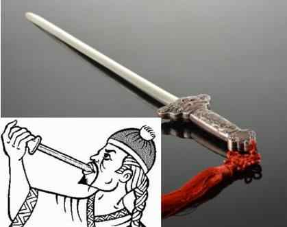 Super Swallowing Sword - Magic  Tricks,Stage,Amazing,Mentalism,Gimmick,Classic Toys,Illusions,Party Magic  Show,Magia Toys,Joke