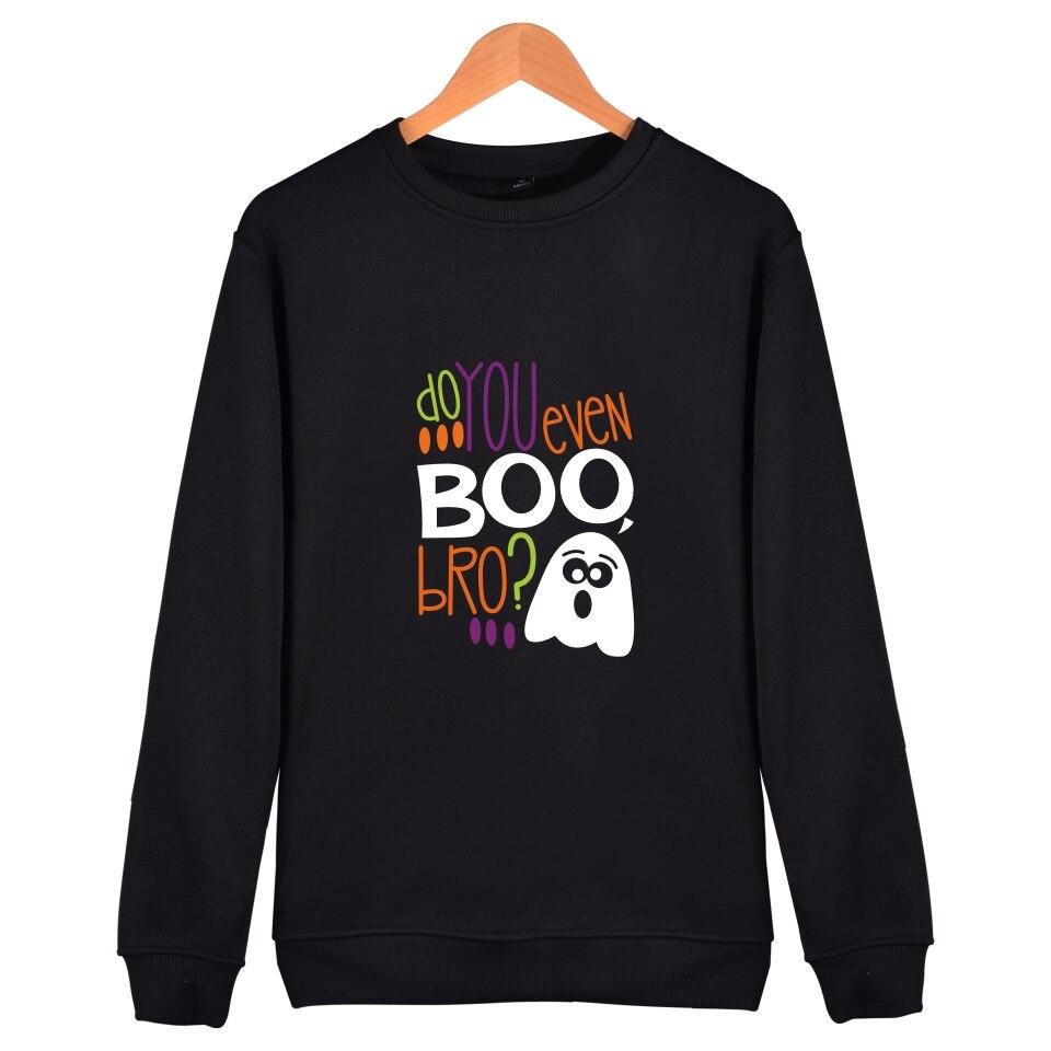 Halloween Sweatshirt Funny Printed New Brand Sweatshirt Men Hoodies Black Full Sleeve Fashion Oversized Hoodie Long 4XL XXS