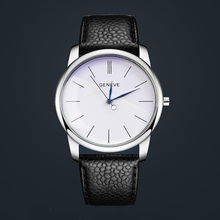 2017 new fashion branded watch women watches simple Roman numerals leather strap luxury quartz relogio feminino