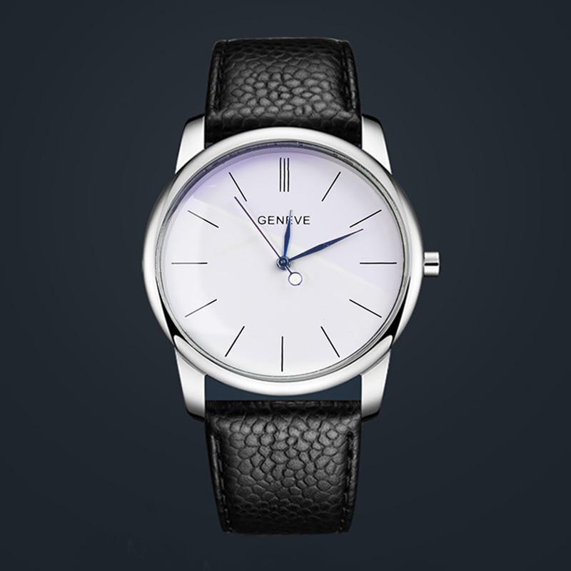 2017 nueva marca de moda reloj mujer relojes simples números romanos correa de cuero de lujo de cuarzo relogio feminino
