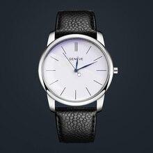 2017 new fashion branded watch women watches simple Roman numerals leather strap luxury quartz relogio feminino