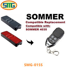4 botões 868.3 mhz Porta Da Garagem Sommer 4035 Portão de Controle Remoto Substituição frete grátis