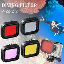 Lens Filter Diving Filters For GoPro Acessorios Camera Housing Case Underwater Lens Converter for Gopro HERO 3+ 4 Go pro 4/3+(China)