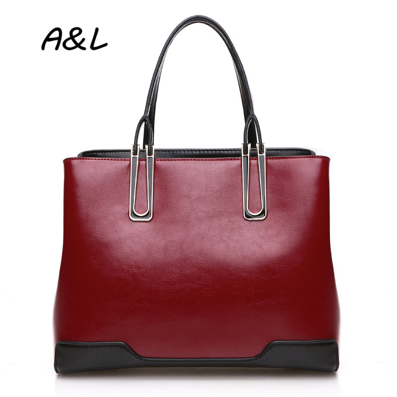 ФОТО 100% Genuine Leather Bag Women Fashion Stitching Handbag Lady Business Casual Tote Famous Designer Shoulder Messenger Bag A0046