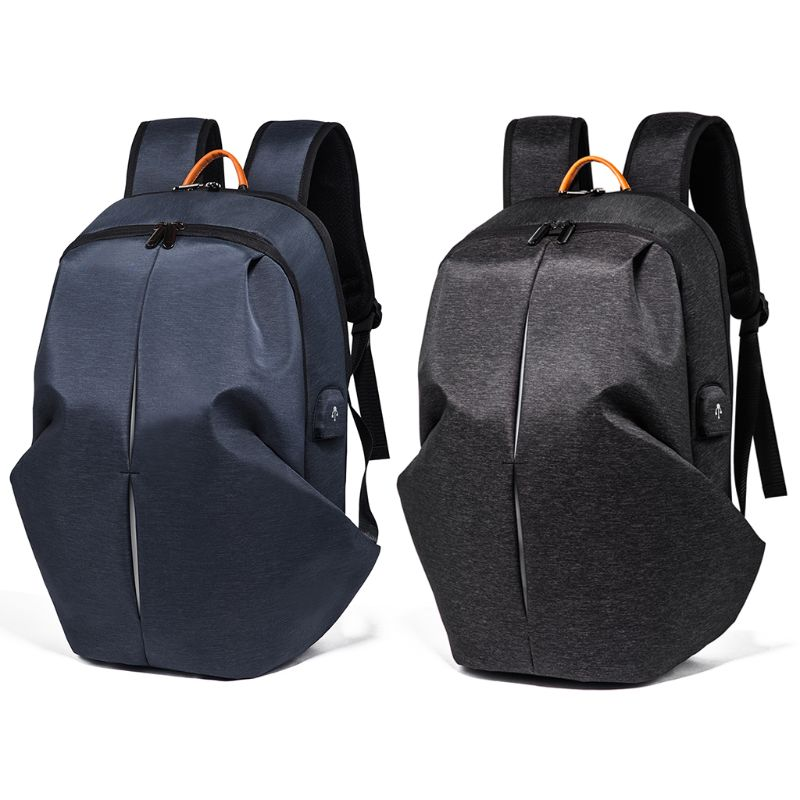 Travel Computer Bag Anti-Theft Daypack Business Backpack with USB Charging Port Waterproof Bookbag for College StudentsTravel Computer Bag Anti-Theft Daypack Business Backpack with USB Charging Port Waterproof Bookbag for College Students