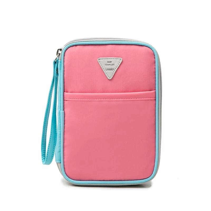 LHLYSGS brand travel wallet passport holder document organizer phone card holder metal card holder card protector Bill folder ...
