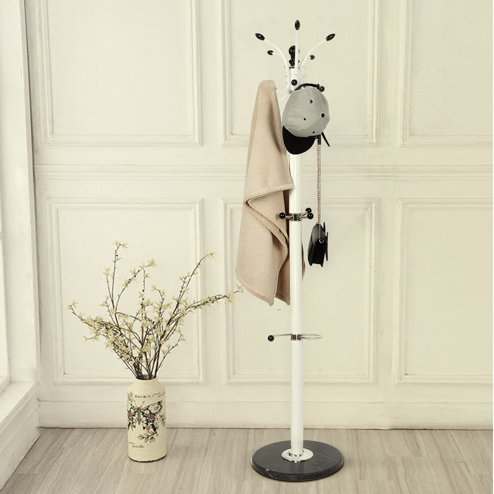 Metal Hanger Floor Standing Coat Rack Creative Home Furniture Clothes Hanging Storage Rack Hanger Bedroom Drying Rack