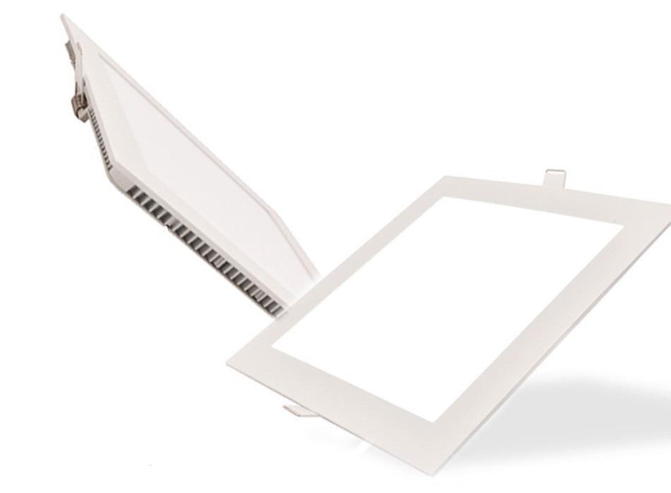 25W Square LED Panel Light Recessed Kitchen Bathroom Ceiling Lamp AC85-265V LED Downlight Warm WhiteCool White Free shipping (7)