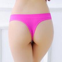 5pcs Lot Active Seamless Women G Strings Shorts Exercise Ladies Panties Lingerie Underwear Bikini Pants Thong