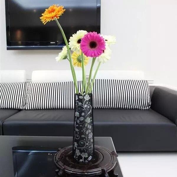 Cheap Plastic Flower Vase Home Decoration Tabletop Vases Dried