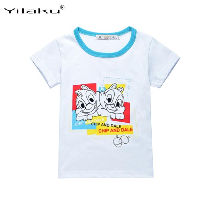 Casual jongens kleding set chip en dal korte mouw t-shirt + broek - Kinderkleding - Foto 3